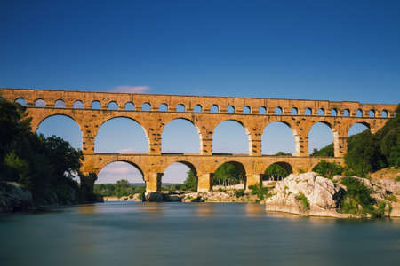 Pont du Gard - Long Exposure Version, Provence, France