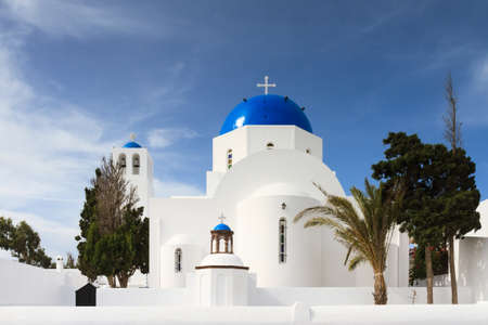cycladic: Cycladic church of Firostefani, Santorini, Greece