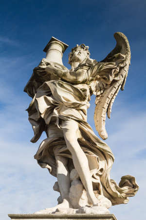 pons: Angel with the Column on Ponte Sant