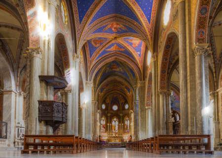 extant: ROMA, ITALIA - 20 de diciembre 2014: La Minerva es el �nico ejemplo existente de edificio de la iglesia g�tica original, en Roma. Editorial