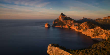 baleares: Cap Formentor in the late afternoon sun Mallorca Baleares Spain