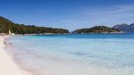 playa: Sand beach Playa Formentor Malllorca Baleares Spain