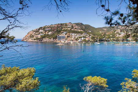 Village of Port Andratx Mallorca Baleares Spain Standard-Bild