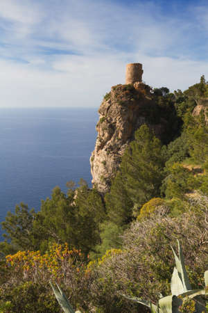 lookout: Lookout tower Torre des Verger Mallorca Baleares Spain