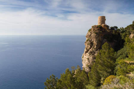 baleares: Lookout tower Torre des Verger Mallorca Baleares Spain