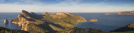 Panorama of Cap Formentor Mallorca Baleares Spain