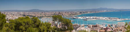 Cityscape of Palma de Mallorca Baleares Spain photo