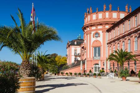 hessen: Baroque Residence Schloss Biebrich, Wiesbaden, Hessen, Germany Editorial