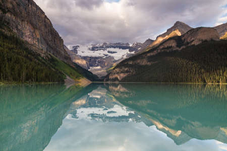 louise: First light on Lake Louise, Alberta, Canada