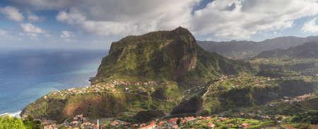 Panorama of Penha de Aguia, Madeira, Portugal