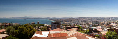 valparaiso: Panorama of Valparaiso, Chile