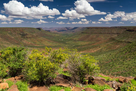 Beautiful day over the Grootberg plateau, Namibia, Africa Stok Fotoğraf