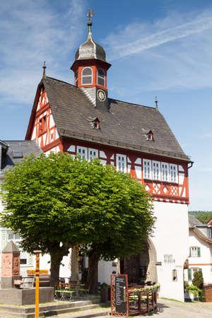 Koenigstein, 헤세, 독일의 반 목조 시민 회관