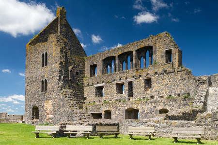 hessen: Ruin of Burg Muenzenberg, Hesse, Germany
