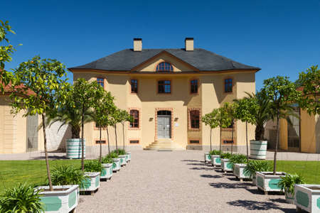 Orangery of castle Belvedere, Weimar, Thuringia, Germany