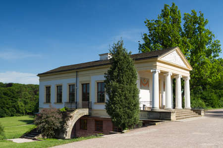 Roman house of Weimar, Thuringia, Germany