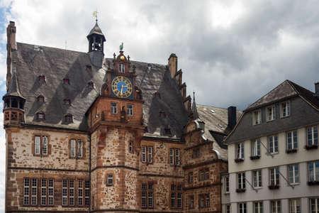 Marburg an der Lahn, 헤세, 독일의 중세 시민 회관 에디토리얼