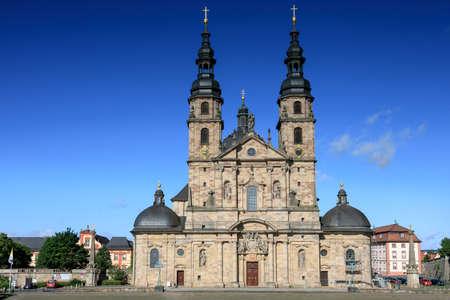 hessen: Baroque Basilica St. Salvator, Fuldaer Dom, Fulda, Germany