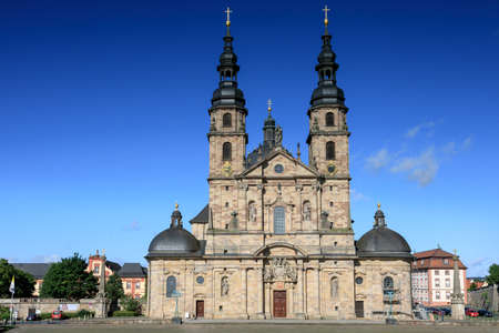 dom: Baroque Basilica St. Salvator, Fuldaer Dom, Fulda, Germany