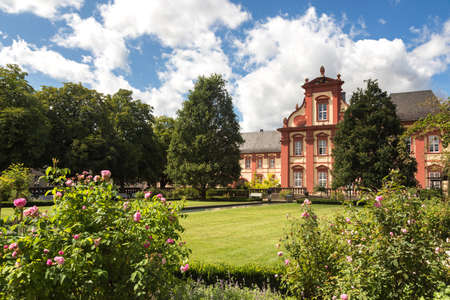 Baroque Domdechanei of Fulda, Hessen, Germany Stock Photo