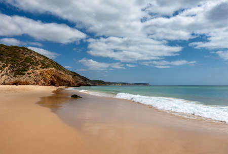 Beautiful beach Praia das Furnas, Algarve, Portugal