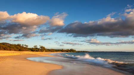 Big Beach in the evening light, Maui, Hawaii, United States