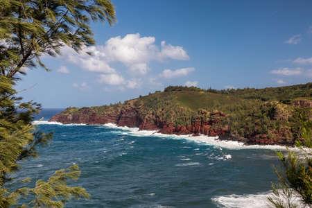 Honolua bay on the island of Maui, Hawaii
