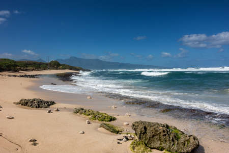Hookipa beach on the island of Maui, Hawaii