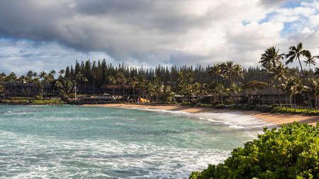Waves at Napili Bay, Maui, Hawaii, United States