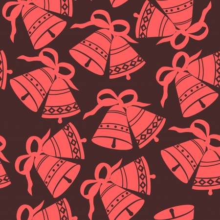 Christmas Bells seamless pattern Stock Vector - 16692281