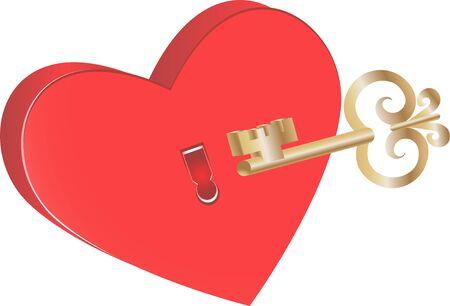 La clave para el s�mbolo del coraz�n del amor