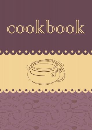libro de cocina Vectores