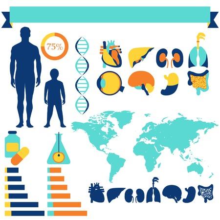 Medicina, salud y cuidado de la salud infograf�a
