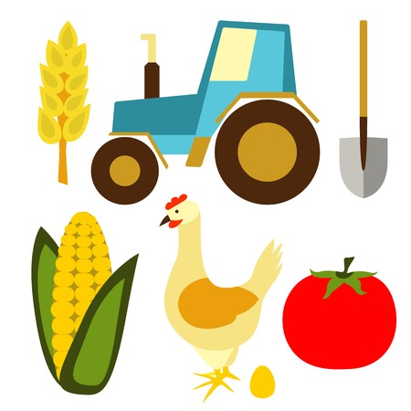 garden stuff: Farm and agriculture icons