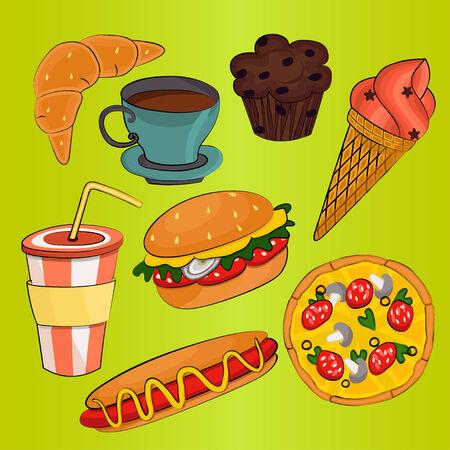 S�mbolos de comida r�pida