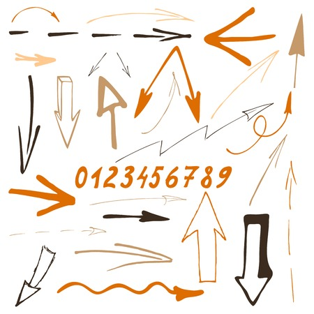 indexes: Sketch arrow set