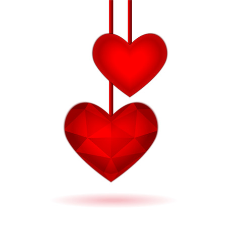 Vector illustration for valentine or wedding Vector