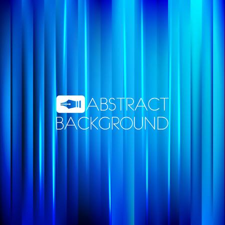 Abstracte blauwe achtergrond met een licht effect. Vector illustratie.