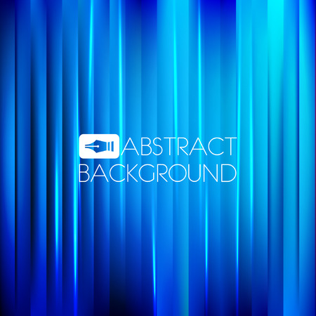 Abstract blue background with light effect. Vector illustration.