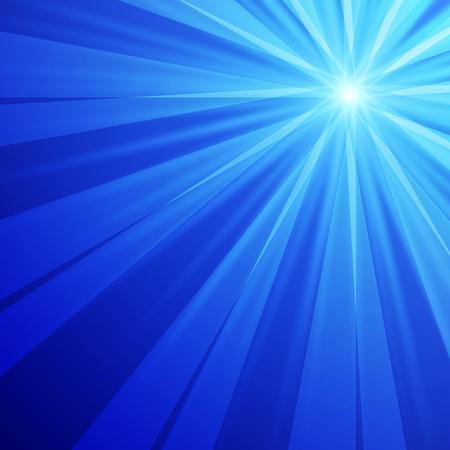 Resumen de fondo azul con efecto de luz. Ilustraci�n del vector. Vectores