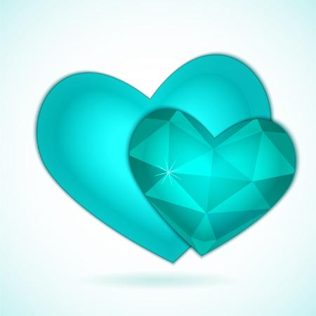 Ilustraci�n del vector para San Valent�n o la boda