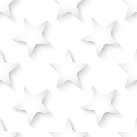 Blanco vector 3d Fondo incons�til abstracto con las estrellas.