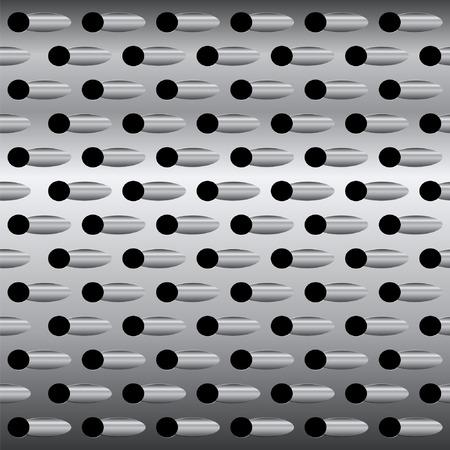 reibe: Hintergrund-Textur Stahl-Reibe, Vektor abstrakten Hintergrund Illustration