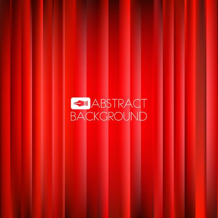 bright center: Abstract red Christmas background with bright center