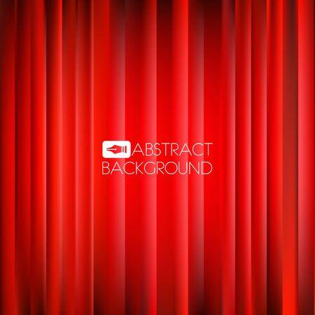 Navidad de fondo rojo abstracto con centro brillante Foto de archivo - 37885215