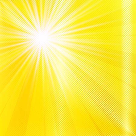 Özet sarı brighy yaz arka plan. Vector illustration