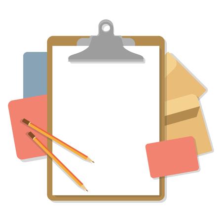 Flat mockups for website design
