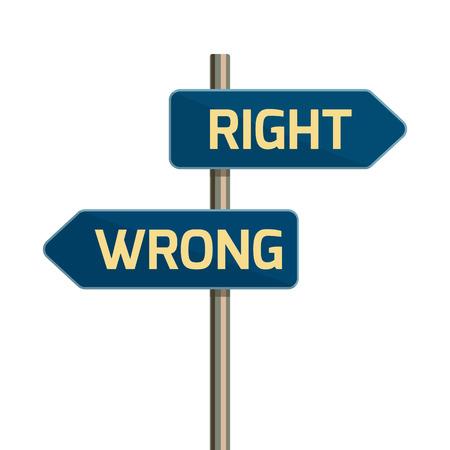 Design plat icône directionnelle signe flèche de route.