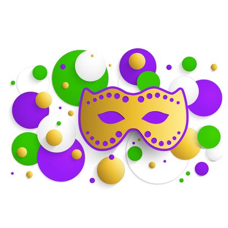 masque: Mardi gras background Illustration