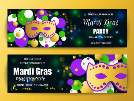 Mardi gras background Vectores